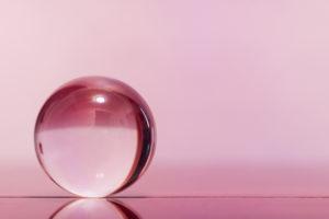 boule rose pink lens